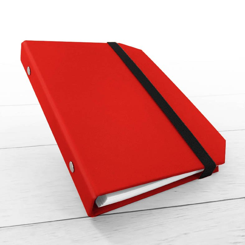 RingNotebook Rosso